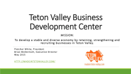 - Made In Teton Valley