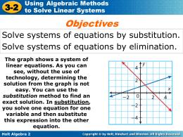 y Holt Algebra 2 3-2