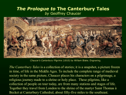 What's a good thesis for The Canterbury Tales?