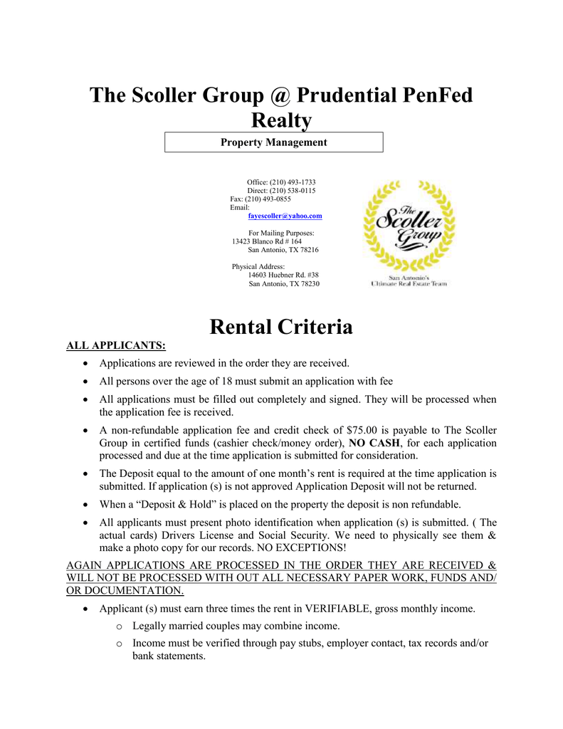 The Scoller Group @ PenFed Realty