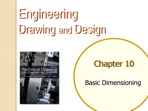 Chapter 8.1-8.5: Basic Dimensioning