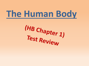 Chapter 1 PowerPoint Test Review