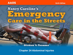 Chapter 1 EMS Systems, Roles, and Responsibilities
