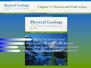 Chapter 17: Deserts and Wind Action