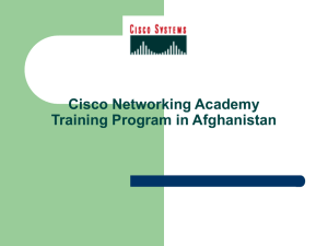 Complete information about how we learn the Cisco Academy