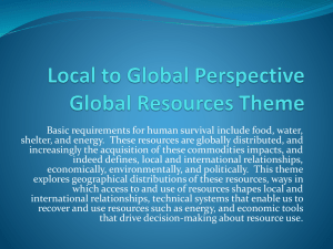 Local to Global Perspective Empire, Colonialism