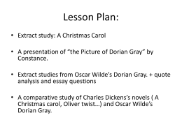 narrative assignment the picture of dorian gray after readying the file mrspuertazdocs