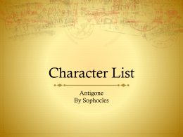 antigone character analysis compassion of love for her brother essay Antigone character analysis essay  antigone's proven love is of the afterlife while her hate is for her uncle and  more about antigone: catharsis analysis essay.