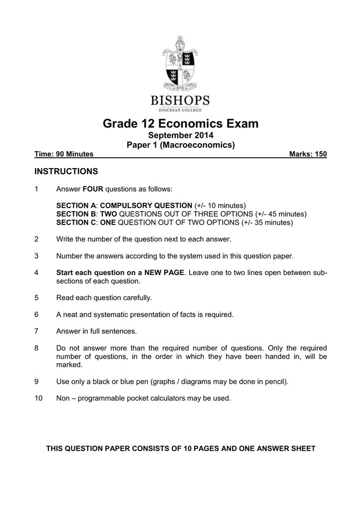 grade 11 june exam 2014