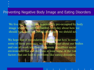 Eating Disorders - What Kids Can Do
