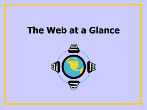 The Web at a Glance - PAMS-PIERCE