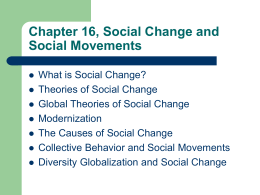 Chapter 23, Social Change