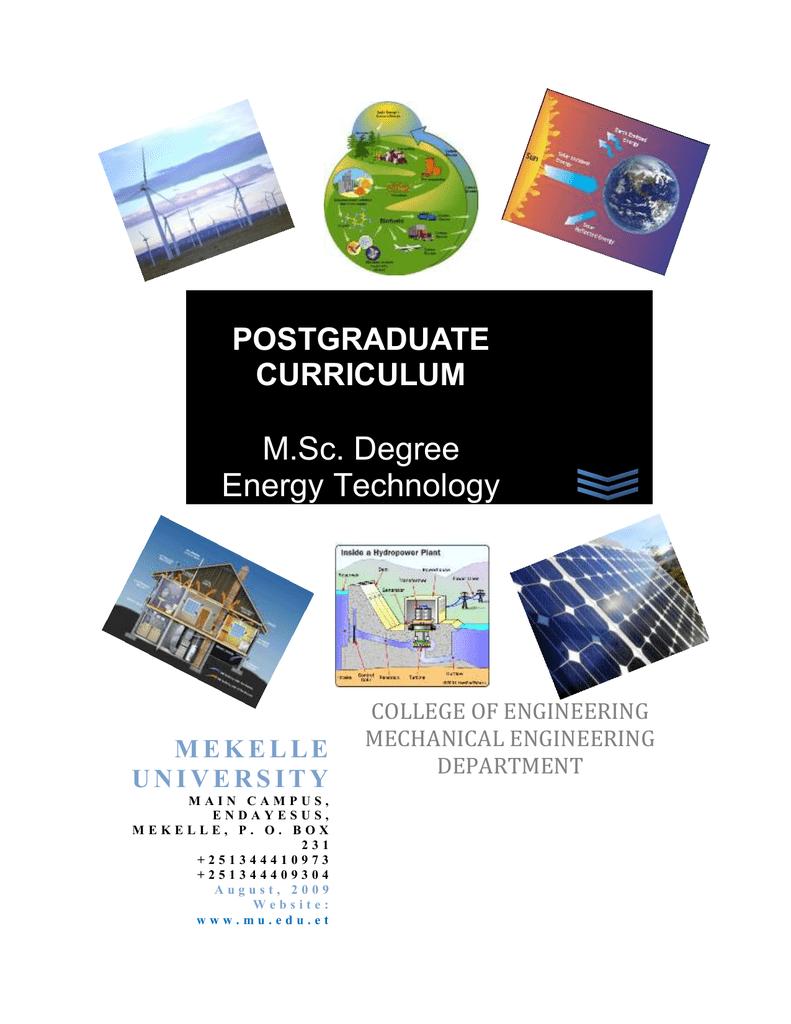 Mechanical Engineering, Mekelle University
