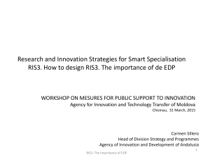 Research and Innovation Strategies for Smart