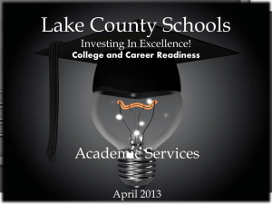AP Human Geography - Lake County Schools