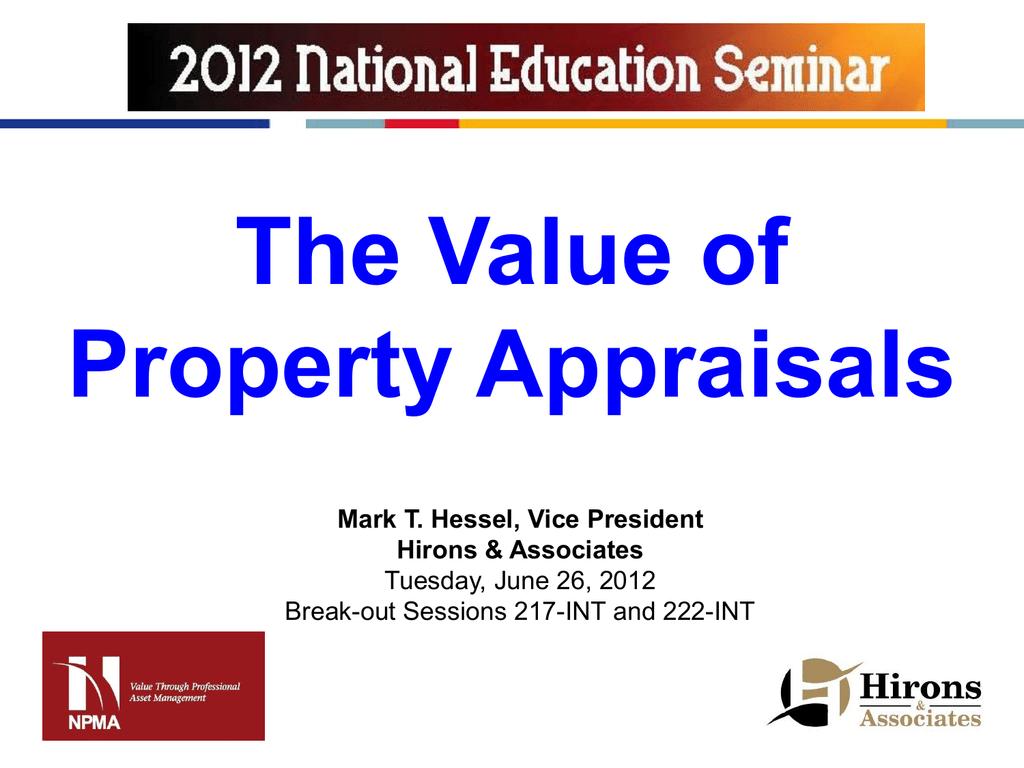 Presentation - National Property Management Association