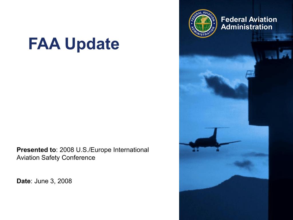FAA-org_update_2008 - International Federation of