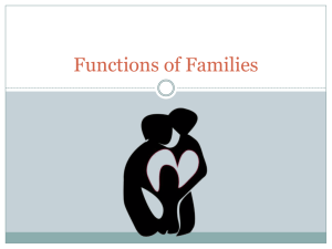 Functions of Families