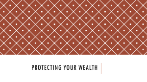 Protecting Your Wealth - Carlisle County Schools