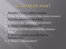 scavenger hunt - Perry Local Schools