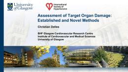 Assessment of Target Organ Damage: Established and Novel Methods