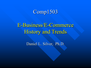 Comp1503 Introduction to E