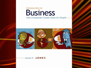 Chapter 1 What is Business?