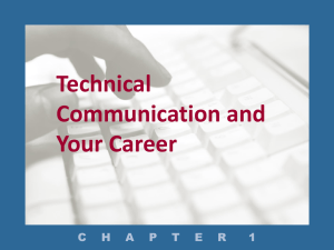 Technical Communication and Your Career