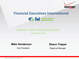 Business Challenges - Financial Executives International
