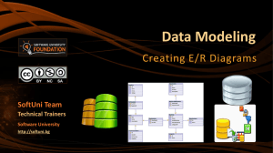 Data Modeling and ER Diagrams