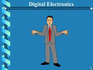 Digital Electronics Chapter 4