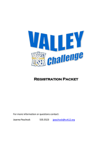 Biggest Loser Registration Form - Conemaugh Valley School District!