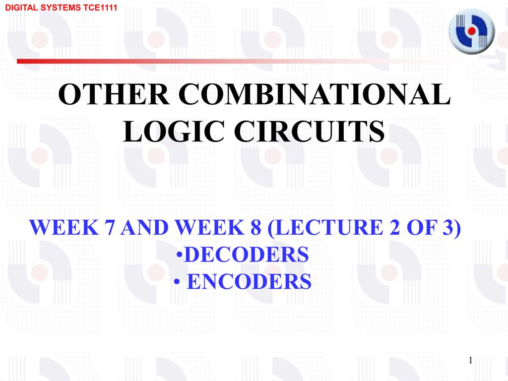 Decoders And Encoders Decoder 4 Input Circuit 8 Bit Binary To Decimal Converter 2