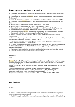 QA Sample Resume-4 here