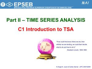 Time series and forecasting in R Rob J Hyndman 29 June 2008