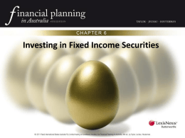 Investing in Fixed Income Securities Powerpoint Lexis Nexis