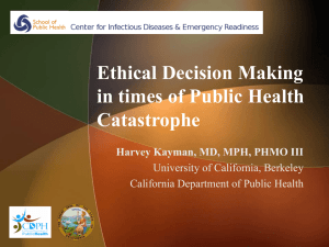 Presentation - Northwest Center for Public Health Practice