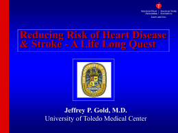 2007 Heart and Stroke Stats