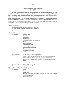 +JMJ+ Chemistry Semester Exam Study Guide Spring 2014 The