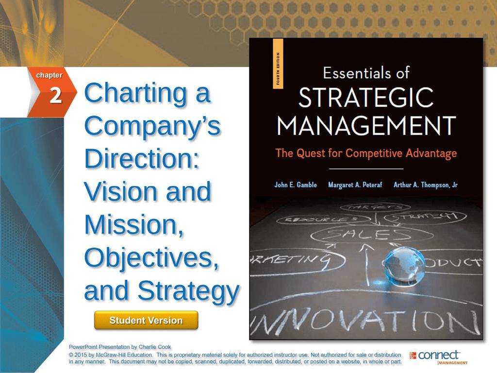 Essentials of Strategic Management 4e