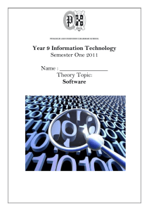 Y9Sem1Software2011Final