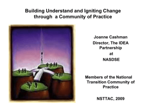 Second National Community Building Forum: Taking Stock Of