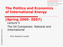 Lecture_05 - Graduate Institute of International and