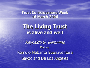 The Living Trust