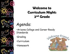 K-5 Curriculum Night - Higley Unified School District