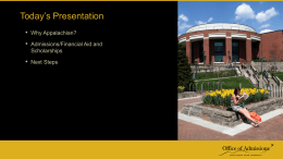 Admission PPT Engagement