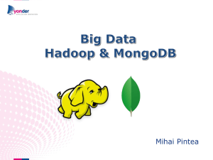 Big Data – Hadoop vs MongoDB