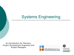 Systems Engineering Training