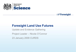 Foresight Land Use Futures