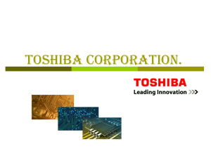 Toshiba Corporation.
